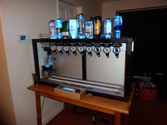 The Inebriator - An Arduino powered automatic bartender