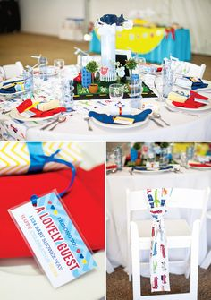 """""""Go Baby, Go"""" Operation Shower Event {Tablescapes Part 2} // Hostess with the Mostess® my table at Operation shower"""