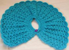 Crocheted Poncho for American Girl Doll or Other by DeeDeesDetails, $7.99