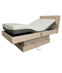 This premium king single adjustable home hospital bed features an adjustable height range of 580mm to 920mm. Ideal for people that require assistance rising from bed in the home. Hi lo beds also reduce injury rates to primary carers, lifting and transfer injuries being one of the most common causes of carer injury.  Price includes a 200mm latex mattress and individual locking castors.