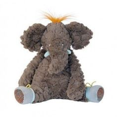 Beware of this Moulin Roty plush elephant! He is sure to steal your heart. This French inspired design is part of the Les Roty Moulin Bazar collection. He is made with super soft plush and fabrics. Truly one of ...