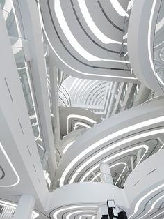Gallery Centercity, Cheonan, Korea, 2008 - 2010 by UnStudio. Courtesy by MAXXI.