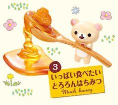 Rilakkuma Honey Sweets Set Re-Ment miniature blind box 6