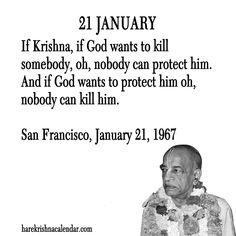 Srila Prabhupada's Quotes In January Full Quote, S Quote, Shree Krishna, Radhe Krishna, Krishna Love, Lord Krishna, January Quotes, Quotes About New Year, Year Quotes