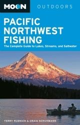 Moon Pacific Northwest Fishing by Terry Rudnick and Craig Schuhmann #PacificNorthwest