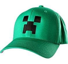Graçons licencia oficial de Minecraft 100% algodón, diseño de Gorra de béisbol de verano o 54 cm, 56 cm Various large #regalo #arte #geek #camiseta