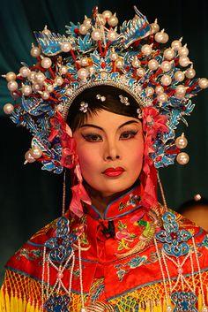 Chinese opera in Penang, Malaysia