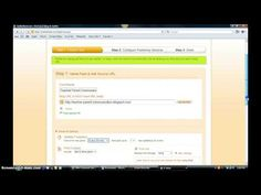 006b Use Twitterfeed to Distribute via Facebook and Twitter This tutorial is on how to configure feed distribution to Facebook and Twitter via twitterfeed.com.