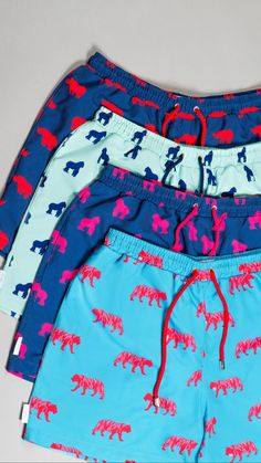 Tiger Print, Swim Shorts, Feel Good, Gym Shorts Womens, Swimming, Swimwear, Color, Inspiration, Collection