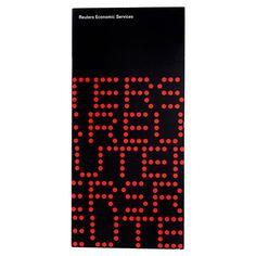 Economic Services booklet | Alan Fletcher #international #swiss #design #graphic #swisse #fletcher #alan #style