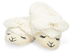 Whether you think they're kitschy or cute, these beyond-soft, spa-caliber sheep slippers (Bath & Body Works, $17) will probably suit someone on your list. #giftideas