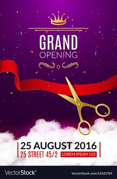 24 Best Grand Opening Invitations images in 2015 | Business