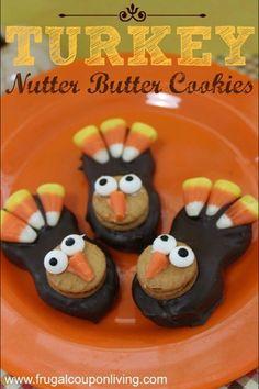 Nutter butter turkeys