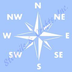 kompas STENCIL