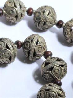 Ornate Afghan Kuchi Tribal Beads Strand ...