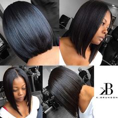 STYLIST FEATURE  Love this classic bob cut✂️ by #AtlantaStylist @karmenlong523 theStylistB So pretty❤️ #VoiceOfHair ========================= Go to VoiceOfHair.com ========================= Sign up for our free eBook for Hair Inspiration <3 =========================