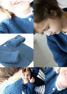 les tricots de Granny: veste 4 ans