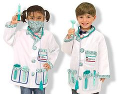 Melissa & Doug Doctor Role Play Costume Set  #Melissa and Doug Doctor Set  #kids #play set