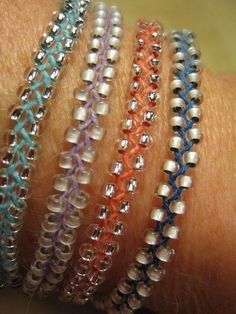 I've gotten hooked on crafting different bracelets this summer and these Beaded Braid ones are my current favorites.  I first saw them on Pinterest and followed the link back to Honestly WTF,…