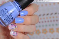 China Glaze Boho Blues #NailPolishAddicted : Цветы акварелью - прелестный слайдер от Силуэта Красоты. Nails 2015, Nail Polish, Blog, Beauty, Nail Polishes, Polish, Blogging, Beauty Illustration, Manicure