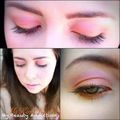 Inspired by the TOO FACED SUMMER EYE PALETTE! :)    -Spitfire on Lid  -Diva in Crease  -Gaia as Liner outer corner  -Illumi as Brow highlight  -Gold Rush as Inner corner highlight   &  DRAMA QUEEN Color Rich Lipstick  + TWINKLING CRIMSON Sugar Baby