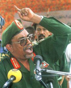 this is omar al-bashir sudans president/dictator.
