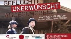 """Nils Steffen auf Twitter: """"Einladung! """"Geflüchtet, unerwünscht, abgeschoben"""" am 27. Jan. 2017 in #Heidelberg! Infos: https://t.co/QywHyOZGvM 🎉 https://t.co/xUGSsOdjSX"""""""