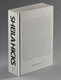 Book about Sheila Hicks. Bookdesign: Irma Boom.