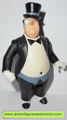 Mattel toys action figures for sale to buy BATMAN the Animated series 2002 PENGUIN condition: overall excellent. nice paint, nice joints. nothing broken or damaged Figure size: approx. 5 inch --------