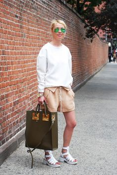 Street Style: Eveline Goes Wild for Alexander Wang