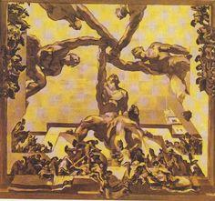 José Maria Sert y Badia - La leccion de Salamanca par José Maria Sert y Badia - Geneva - UN - Council Chamber - Domingo de Vittoria