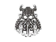 celtic mask   Free designs - Celtic viking mask tattoo wallpaper