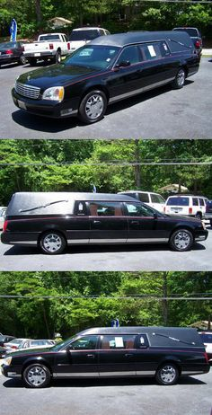 2001 Cadillac S&S Deville Hearse [low miles] 17 Inch Wheels, Cadillac, Amp