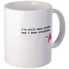 Pretty Little Liars   24 TV Show Coffee Mugs That Are Perfect For Both Your Coffee And TV Addiction