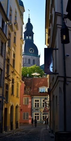 Riga, Latvia / Letonia  Can't wait to visit and explore.