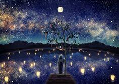 tanabata night - Google Search