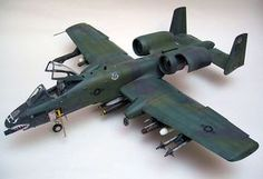 A-10A Thunderbolt II | 10A Thunderbolt II by Cees Knoll (Trumpeter 1/32)