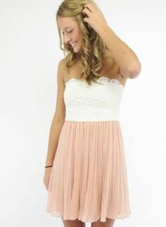 whatgoesgoodwith.com light-pink-casual-dress-03 #cuteoutfits