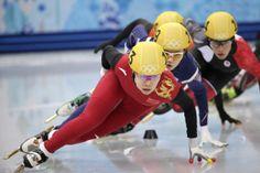 Women's Short Track 1,500 Meters  Gold: Yang Zhou, China; 2:19.140 Silver: Suk Hee Shim, South Korea; 2:19.239 Bronze: Arianna Fontana, Italy; 2:19.416