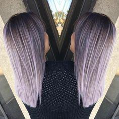 "Polubienia: 1,243, komentarze: 7 – Hairbesties Community (@guytang_mydentity) na Instagramie: ""#Hairbeatie @abrianrivas  Up close and far back 💁🏼 @guy_tang #Mydentity 8SP Silver Pearl color…"""