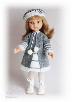 Ag Doll Clothes, Knitted Dolls, Ag Dolls, Photos Du, Vintage Dolls, Crochet Hats, Costumes, Norway, Fashion