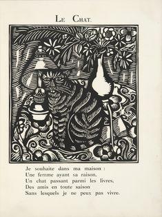 DUFY, RAOUL--APOLLINAIRE, GUILLAUME LE BESTIAIRE OU LE CORTÈGE D'ORPHÉE. ILLUSTRÉ DE GRAVURES SUR BOIS PAR RAOUL DUFY. PARIS, DEPLANCHE, 191...