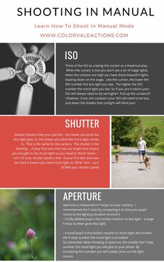 Learn how to shoot in manual - Get off auto today! This is the easiest tutorial to follow. ISO, Aperture & Shutterspeed
