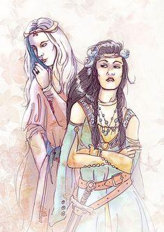 Rhaegar and Lyanna by ~kethryn on deviantART