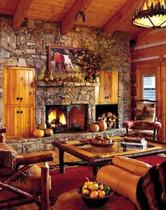 Oh my! I love this cabin!
