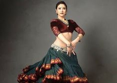 GHOOMAR GHAGHRAA BLOUSE Indian Classical Dance, Belly Dance, Girl Outfits, Wonder Woman, Superhero, Blouse, Clothes, Collection, Instagram