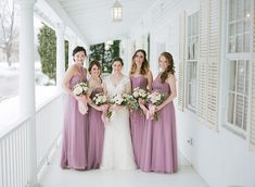 Can't wait to share this classic rainy day wedding. Melissa and her bridesmaids are decked out in gowns from our favorite Connecticut bridal boutique Bridal gown: Bridesmaids dresses: Badgley Mischka Bridal, Bridesmaid Dresses, Wedding Dresses, Bridesmaids, Bridal Salon, Wedding Dj, Bridal Boutique, Beautiful Bride, Wedding Pictures