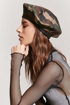 Product Name:Camo Print Beret, Category:ACC, Price:13