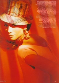 Christy Turlington by Javier Vollhonrat Vogue UK March Vogue Uk, Christy Turlington, Vogue Magazine, Portrait Inspiration, Female Art, Beautiful People, Beautiful Women, Supermodels, Editorial Fashion