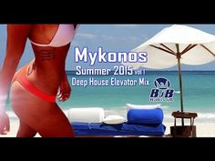 Mykonos 2015 Tropicana Beach Party - This is nightlife - YouTube